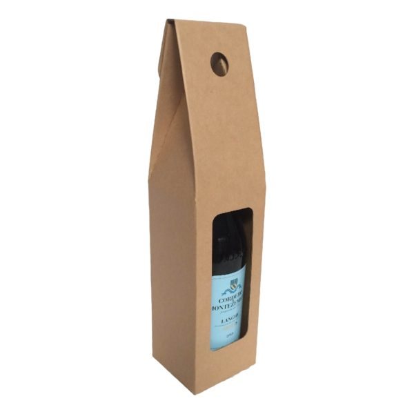 WINE SINGLE BOTTLE CARRIER BOX