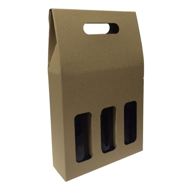 beer three bottle box