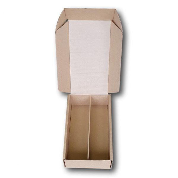 wine two bottle laydown box