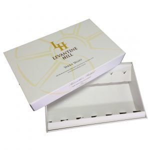 Wine 6 Bottle Laydown Box