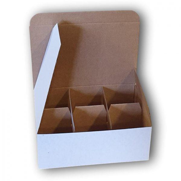 6 cupcake box with insert